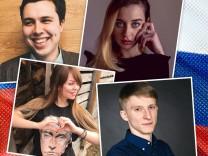 Protokolle junger Russen