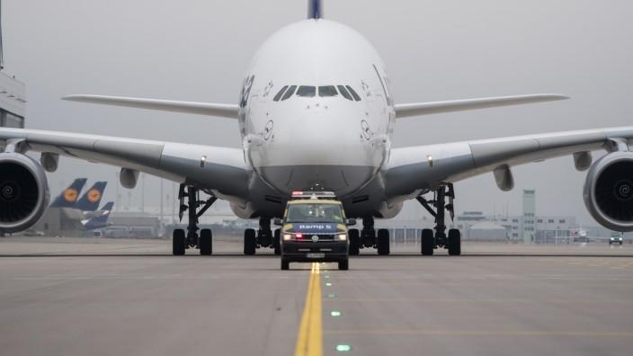 Lufthansa Stationiert Fünf Airbus A380 In München München