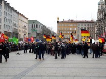 Pegida-Demonstration in München am 17.03.2018