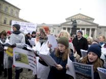 München: PEGIDA - Demonstration + Gegendemonstration