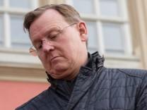 Thüringens Ministerpräsident Bodo Ramelow (Die Linke) 2018 beim Festumzug in Eisenach.
