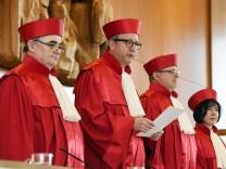 Verfassungsgericht zu Äußerungsrechten von Regierungsmitgliedern