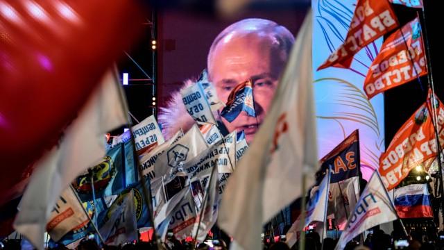 Journalismus Presseschau zur Wahl in Russland