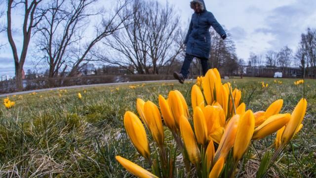 Frühling lässt sich Zeit