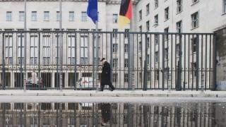 Das Bundesfinanzministerium in Berlin - seit März 2018 leitet der SPD-Politiker Olaf Scholz die Behörde.