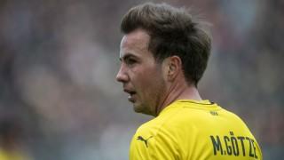 Mario Götze von Borussia Dortmund beim Bundesliga-Spiel gegen Hannover 96.
