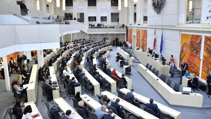 Österreichs Parlament debattiert über BVT