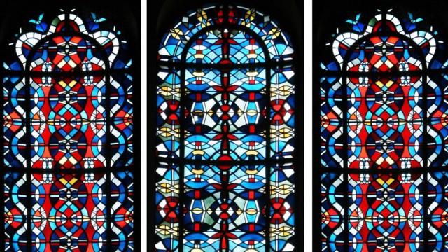 Chorfenster der ehem. Kirche St. Lambertus in Erkelenz-Immerath