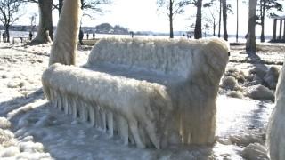 Eisiger Winter in Schleswig