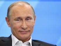 Präsidentenwahl in Russland - Wladimir Putin