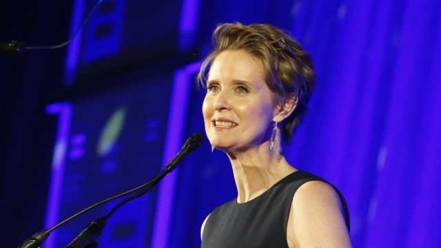 Cynthia Nixon kandidiert in New York