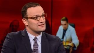 """Gesundheitsminister Jens Spahn ist zu Gast in der ARD-Sendung """"Hart aber fair""""."""