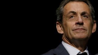Frankreichs Ex-Präsident Nicolas Sarkozy 2016 auf einer Veranstaltung in Les Sables d'Olonne.