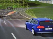 Fahrerassistenzsysteme werden getestet