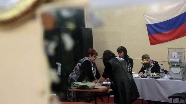 Russische Präsidentschaftswahl Wahl in Russland