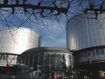 Der Europäische Gerichtshof für Menschenrechte in Straßburg.