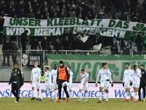 19 03 2018 Fussball Saison 2017 2018 2 Fussball Bundesliga 27 Spieltag FC Erzgebirge Wi