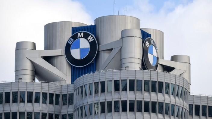 Die BMW-Firmenzentrale in München.