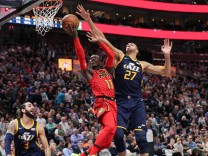 NBA: Atlanta Hawks at Utah Jazz