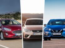 Ford Fiesta, Seat Ibiza und Nissan Micra