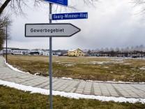 Gewerbegebiet Pöring wg. Erweiterung