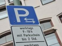 Parklizenzgebiet in München, 2013