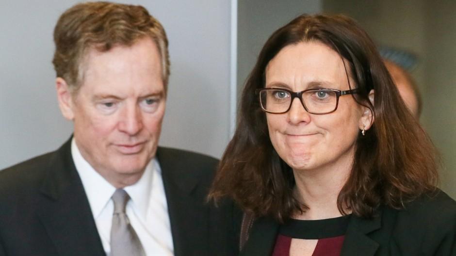 EU vorläufig von US-Strafzöllen ausgenommen