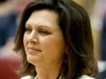 Ilse Aigner im bayerischen Landtag.