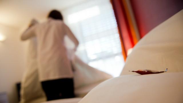 Mindestlohn in Hotels.