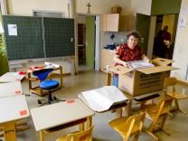 Korbiniansschule Umzug