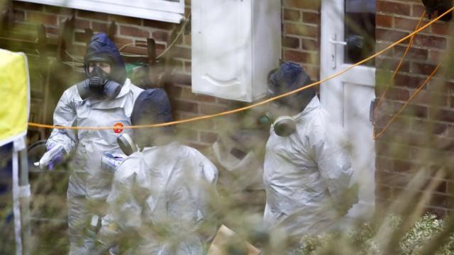 Politik Großbritannien Vergifteter Ex-Agent