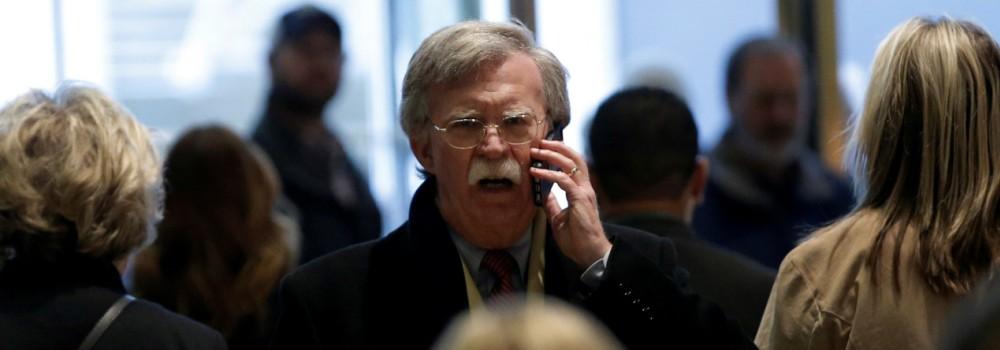 John Bolton McMaster Trump Weißes Haus Nationaler Sicherheitsberater
