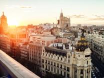 Madrid von oben