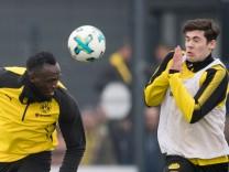 Usain Bolt trainiert bei Borussia Dortmund