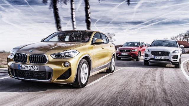 BMW X2, Jaguar E-Pace und Volvo XC40