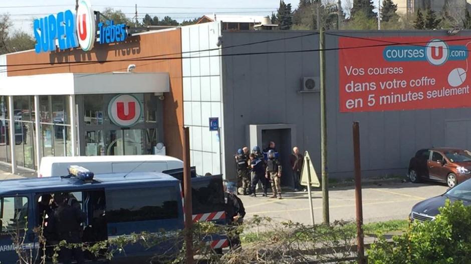 Vier Tote bei Geiselnahme in Südfrankreich