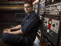 July 24 2014 Chicago IL USA Steve Albini in his studio on July 24 2014 in Chicago Chicago U