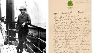 Brief Von Gustav Mahler An Thomas Mann Aufgetaucht Kultur
