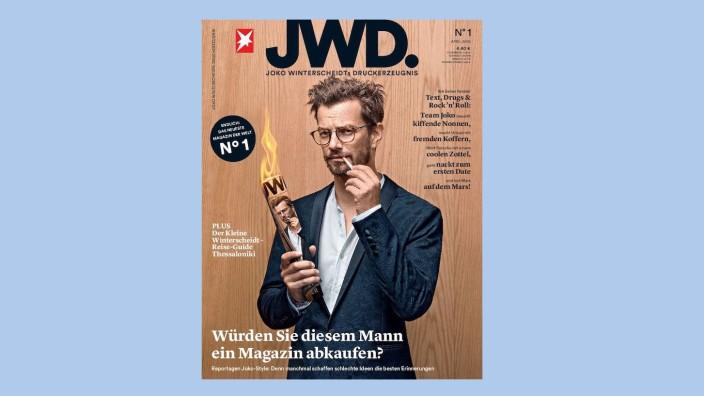 Magazin von Joko Winterscheid: Schmerzbefreite Mutprobe