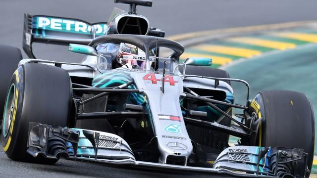 Formel 1 Mercedes in der Formel 1