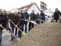 Jesenwang: Erneuerung Ortsdurchfahrt / Spatenstich