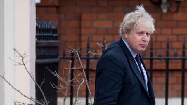 Boris Johnson in London - in der Datenaffäre um Cambridge Analytica gerät auch der britische Außenminister unter Druck.