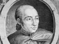Portrait de Nicolas Edme Restif de La Bretonne 1734 1806 egalement Retif de La Bretone par Bi