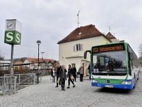 Weßling S Bahn, Schienenersatzverkehr