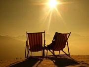 Reise, Urlaub, Liegestühle, ddp