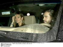 Heidi Klum quitte le club Delilah en voiture avec Tom Kaulitz (Tokio Hotel) à West Hollywood