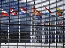 Das Nato-Hauptquartier in Brüssel - im Zuge des Falls Skripal müssen sieben russische Diplomaten die Vertretung verlassen.