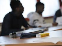 Berufsschule für Flüchtlinge in München, 2016
