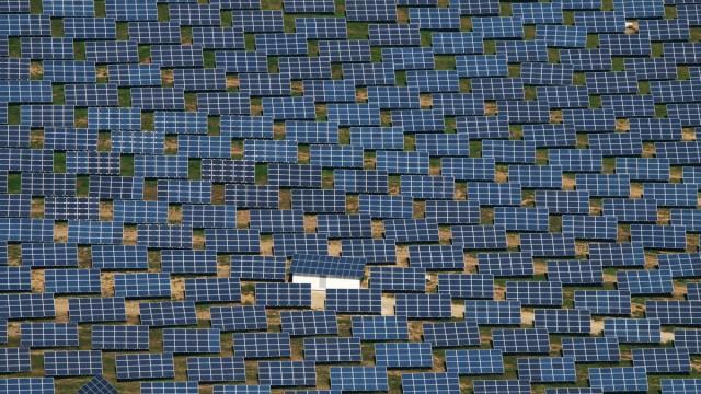 Solarzellen in Vishofen, 2010