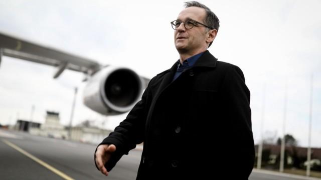 Bundesaußenminister Heiko Maas reist nach New York - er wirbt dort um einen nicht-ständigen Platz für Deutschland im UN-Sicherheitsrat.